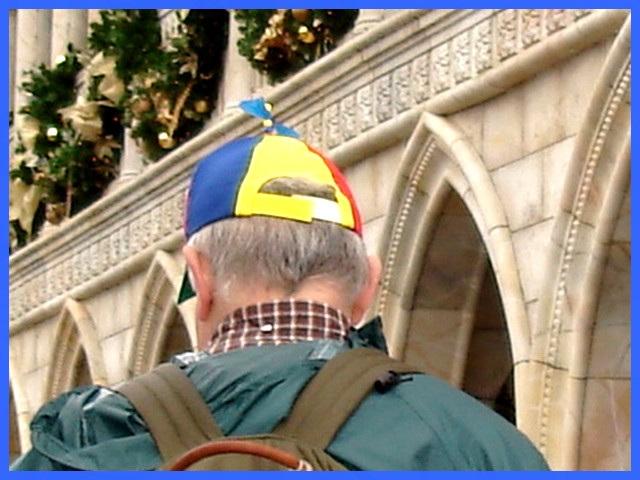 Casque à hélice / Propeller hat - Disney horror picture show - Décember 26th 2006.