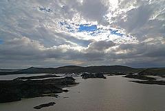 The big glacial lake