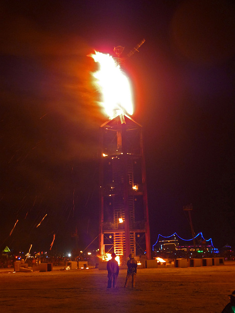 The Man Ablaze (1219)