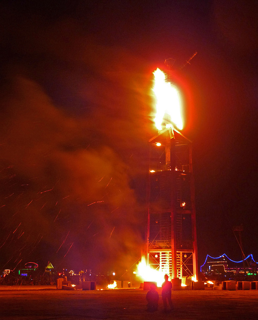 The Man Ablaze (1222)
