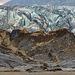 The Svinafellsjökull glacier