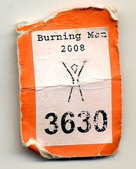 Burning Man Camera Tag