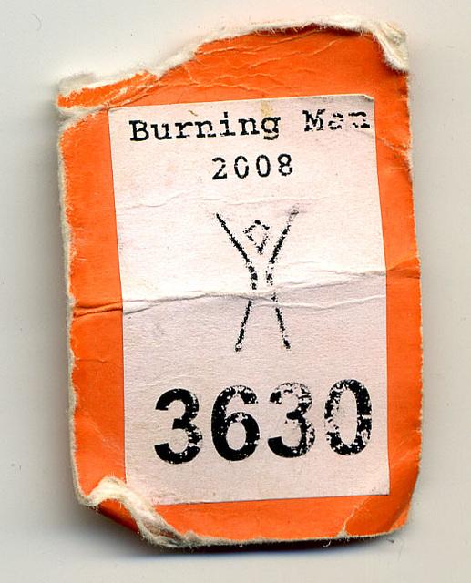 Burning Man Camera Tag