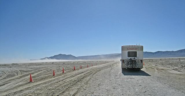 Heading Onto The Playa (1369)
