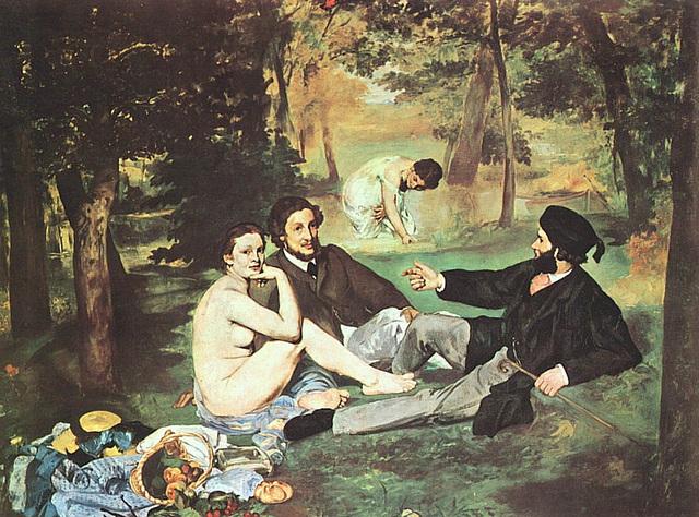 Le déjeuner sur l'herbe, œuvre de Edouard Manet