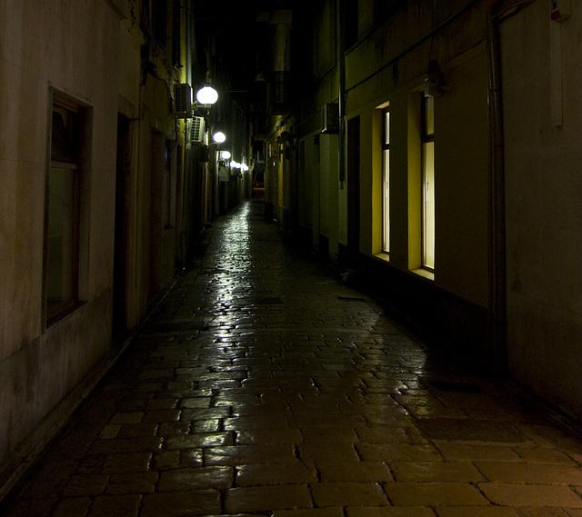 Zadar bei Nacht