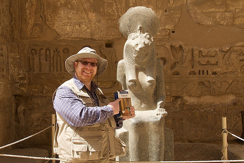 Allan's in Egypt!