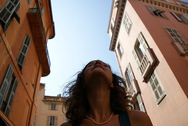Dans le vieux Nice