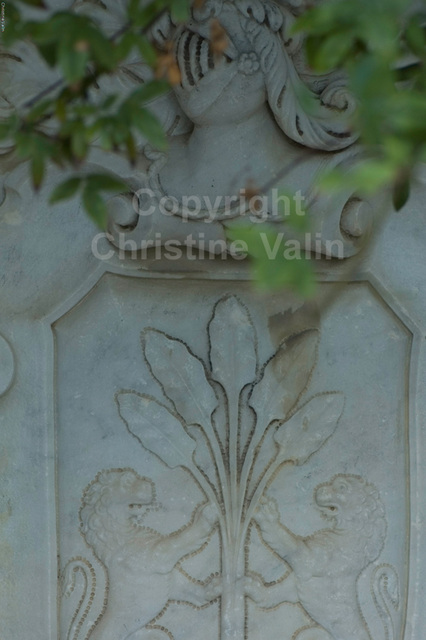 decoration in stone
