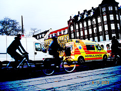 Copenhagen Ambulance-  Artwork version.  November 2007.