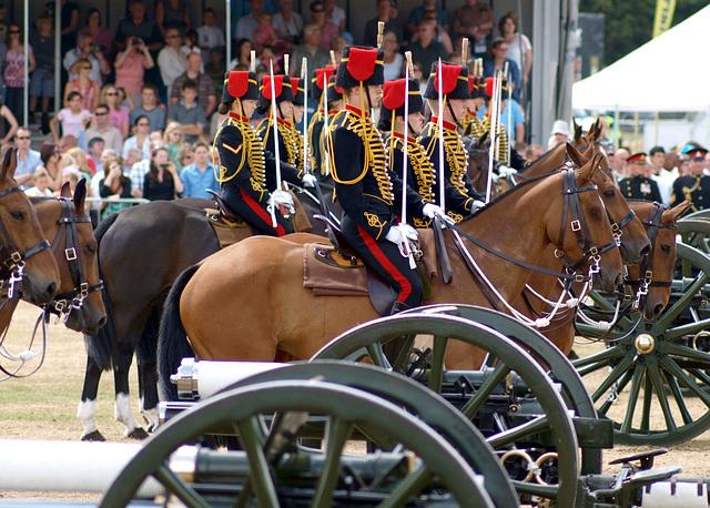 Musical Drive Kings Troop Royal Horse Artillery 16