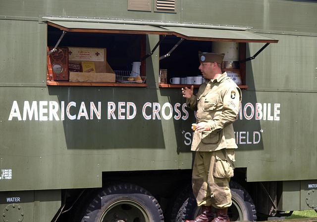US Army Re-enactor 2
