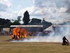 Royal Signals Motorcycle White Helmets Fire Jump 1
