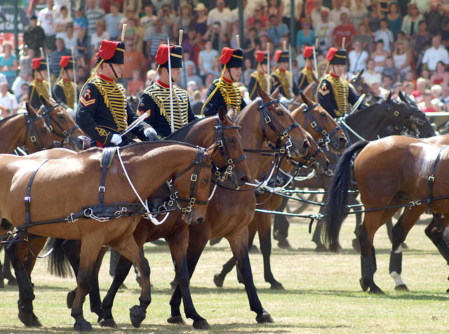 Musical Drive Kings Troop Royal Horse Artillery 13