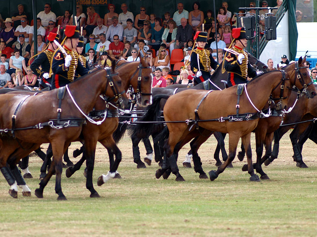 Musical Drive Kings Troop Royal Horse Artillery 4