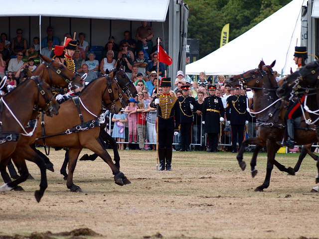 Musical Drive Kings Troop Royal Horse Artillery 5