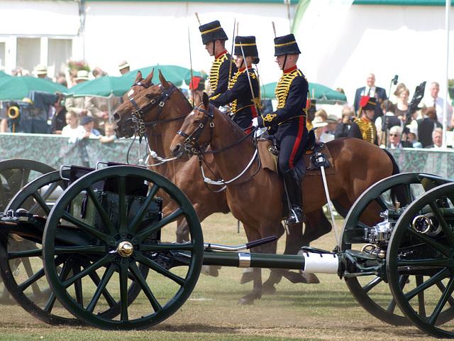 Musical Drive Kings Troop Royal Horse Artillery 1
