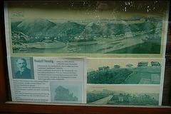 Ostrau oberhalb von Bad Schandau - 1904 -