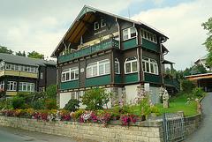 Holzhäuser von 1904 in Ostrau bei Bad Schandau