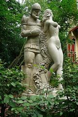 Skulptur in Ostrau