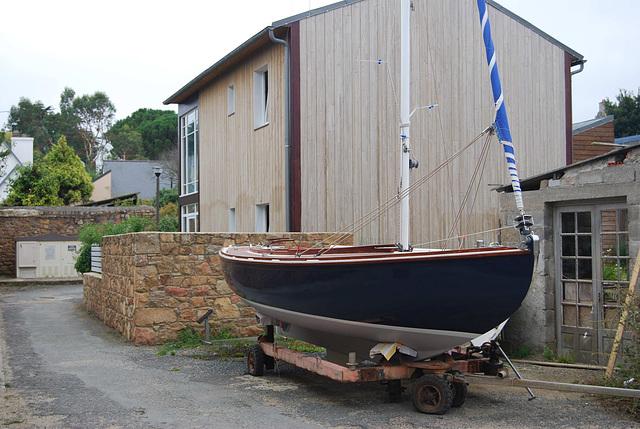 Boat in the Street