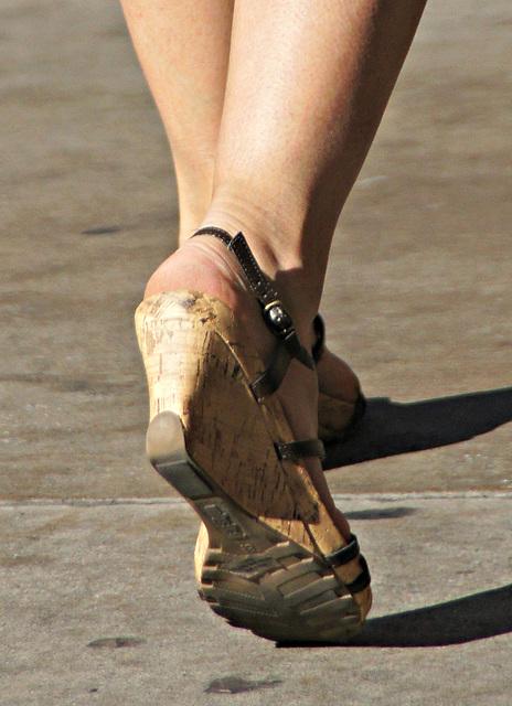 wedge heels size 8.5