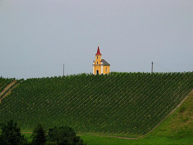 hoch oben stehet die Kapelle