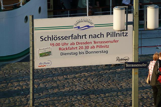 Schlösserfahrt nach Pillnitz