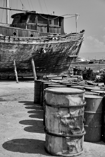 Simply Barrels.....and a boat....