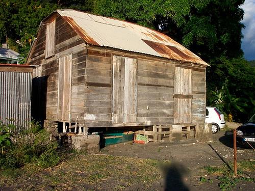Une case créole en Guadeloupe