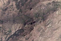 Arunachala, sommet noir