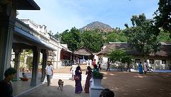 Arunachala depuis l'ashram de Ramana