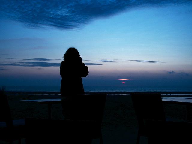 Quand le soleil se couche...