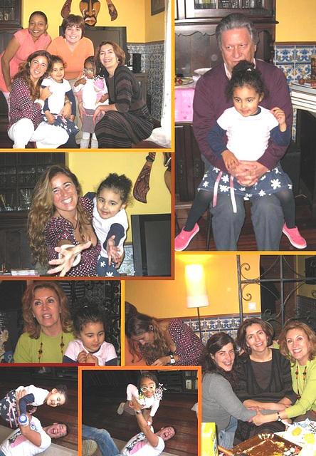 Rafaela, 3rd anniversary at home