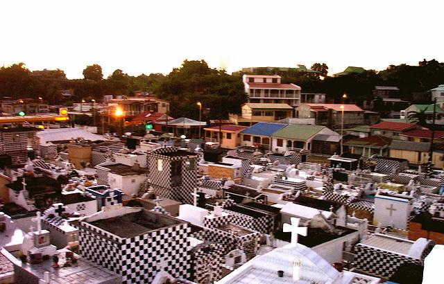 Cimetière de Morne à l'Eau, Guadeloupe