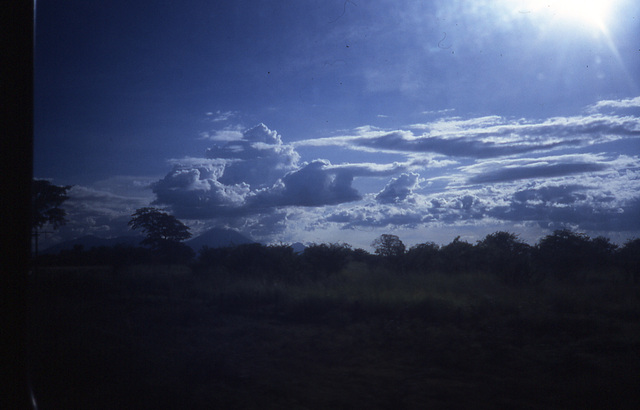 Clouds over Nicaragua