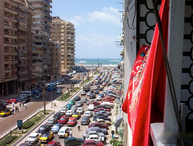 Fête de Sham en-Nessim, Alexandrie