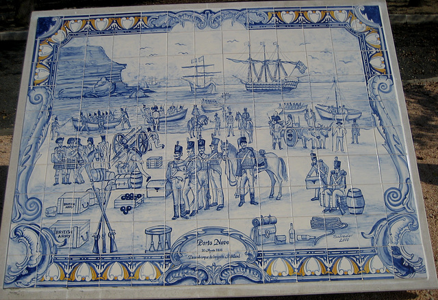 1st French Invasion of Portugal, British troops disembark at Porto Novo (2)
