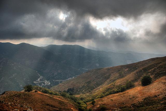 Let the light through, black cloud.....!