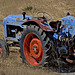 The red-blue tractor.......