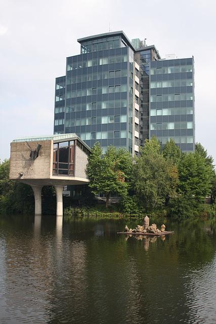 Das Rathaus in Bielefeld Sennestadt