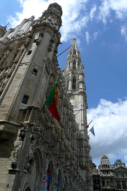 Brussels Grand Square Town Hall 3