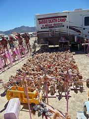 World Naked Bike Ride - Barbie Death Camp (0660)
