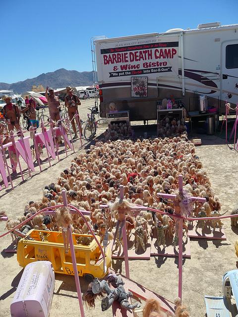 World Naked Bike Ride - Barbie Death Camp (0660)
