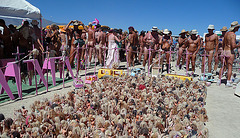 World Naked Bike Ride - Barbie Death Camp (0665)