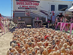 World Naked Bike Ride - Barbie Death Camp (0671)