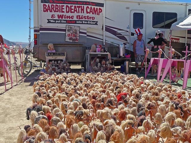 World Naked Bike Ride - Barbie Death Camp (0671)