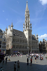 Brussels Town Hall Grand Square 2