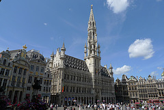 Brussels Town Hall Grand Square 1