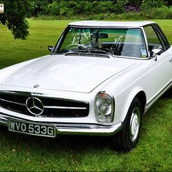 1969 Mercedes 280 SL - WVO 533G